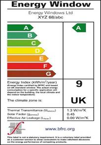 Brand windows ltd energy ratings for Window energy ratings